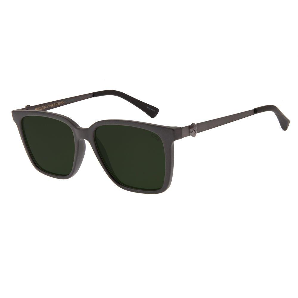 oculos de sol unissex chilli beans caveira quadrado marrom escuro 2680 1547