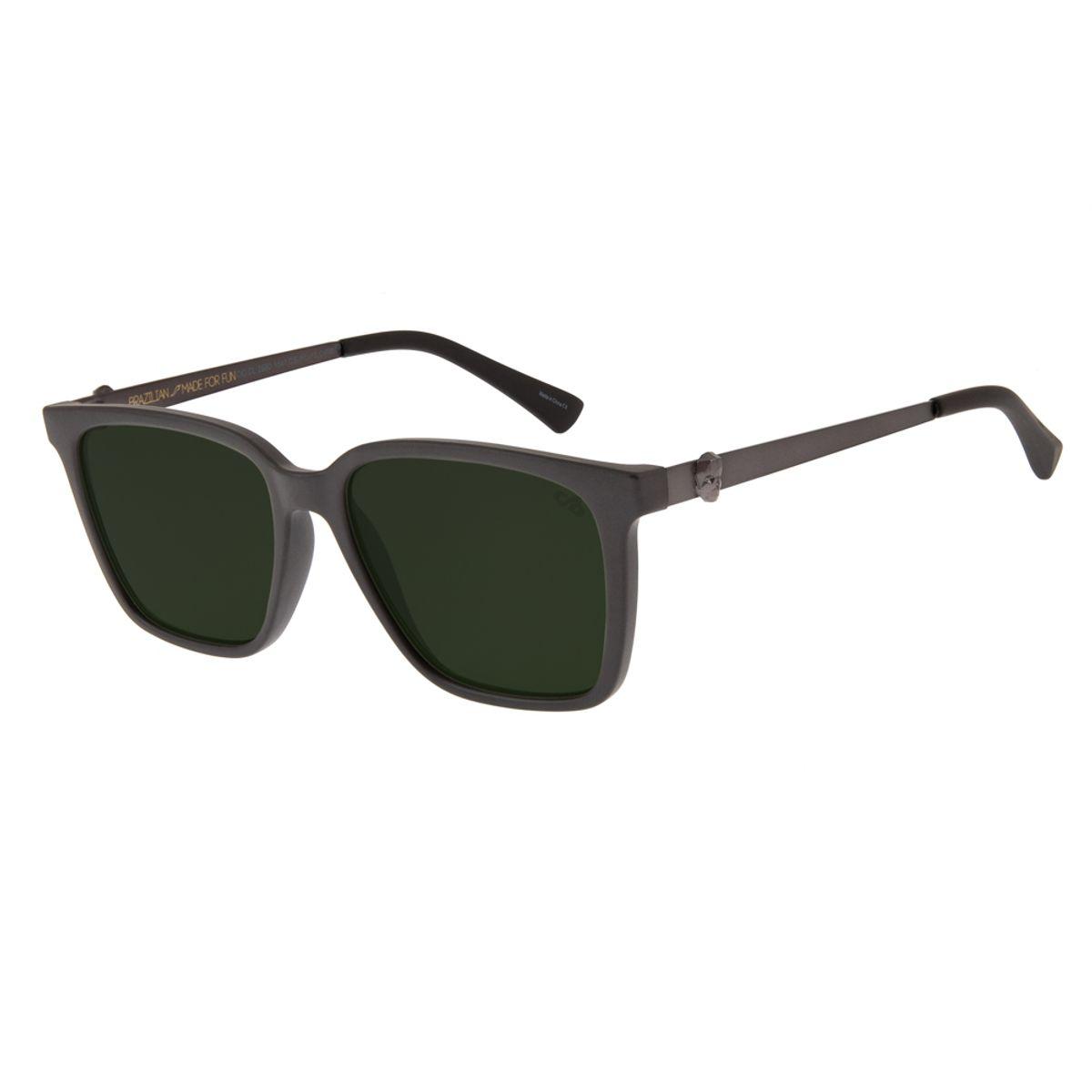 8390eb9e1 oculos de sol unissex chilli beans caveira quadrado marrom escuro 2680  1547; oculos de sol unissex ...