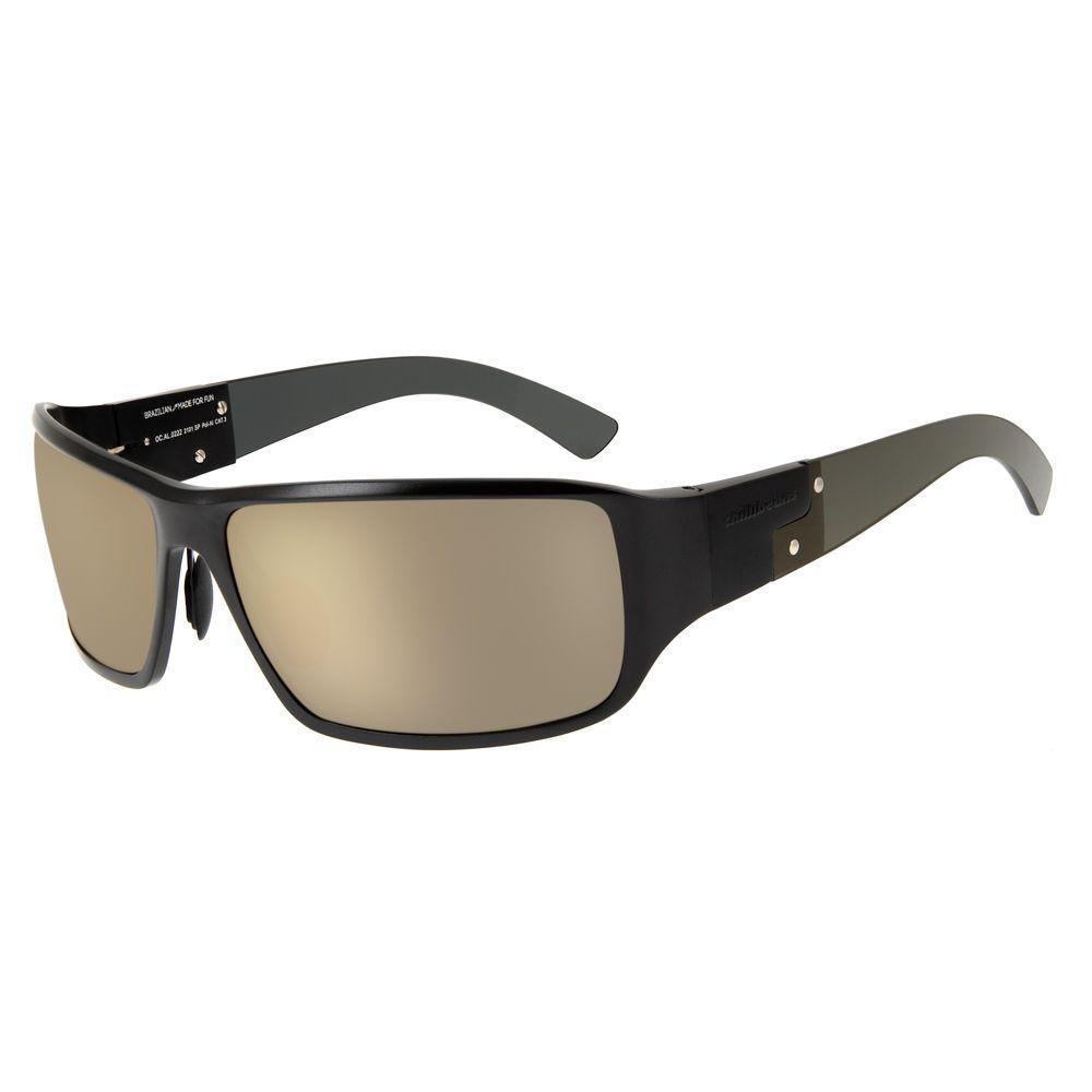 oculos de sol chilli beans esportivo masculino polarizado dourado haste 0222 2101