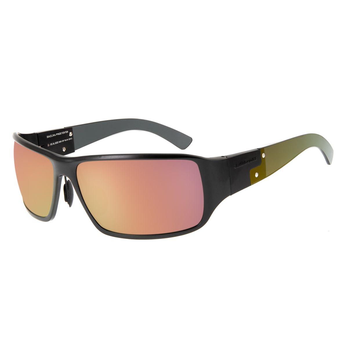 3a8206e84 Óculos de Sol Chilli Beans Esportivo Masculino Polarizado Vermelho ...