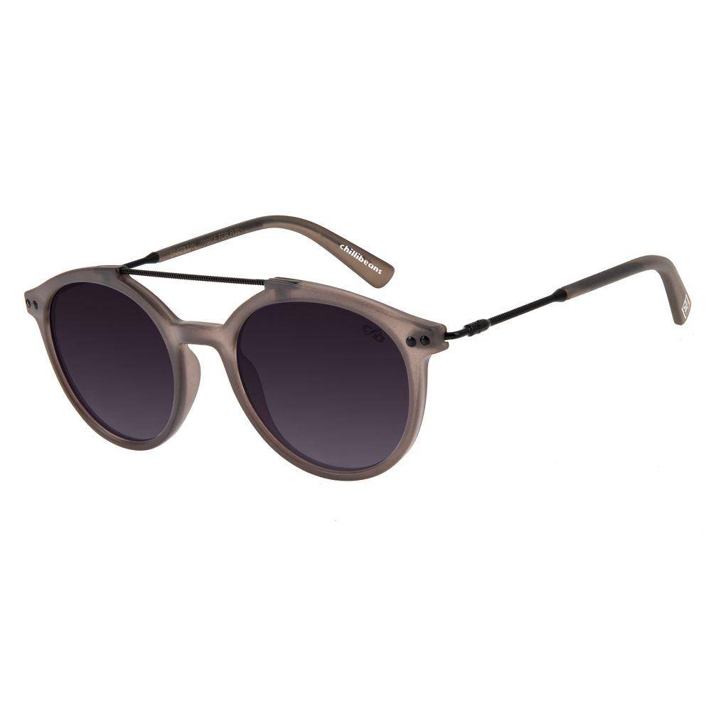 oculos de sol redondo unissex chilli beans blk knowledge degrade 2758 2001