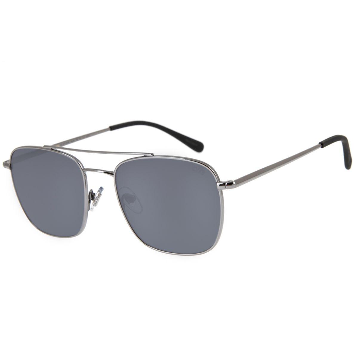 c156350b8 Óculos de Sol Executivo Masculino Chilli Beans Blk Metal Cinza Escuro 2639  - OC.MT.2639.0428 M. REF: OC.MT.2639.0428. OC.