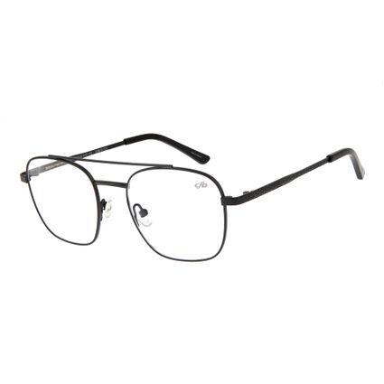 armacao para oculos de grau chilli beans blk metal preto 0319 0101