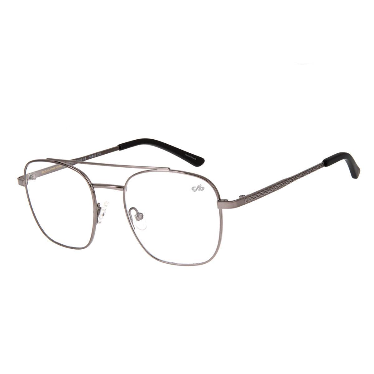 3330d97ef armacao para oculos de grau chilli beans blk metal grafite 0319 2424 ...