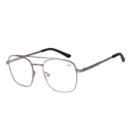 armacao para oculos de grau chilli beans blk metal grafite 0319 2424