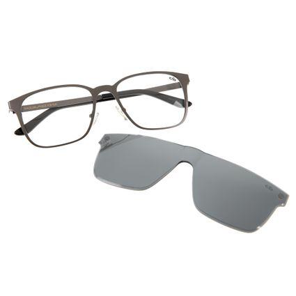 armacao para oculos de grau masculino chilli beans blk multi cinza 0227 0028