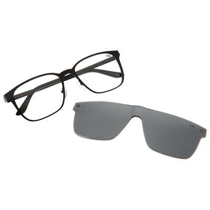 armacao para oculos de grau masculino chilli beans blk multi preto