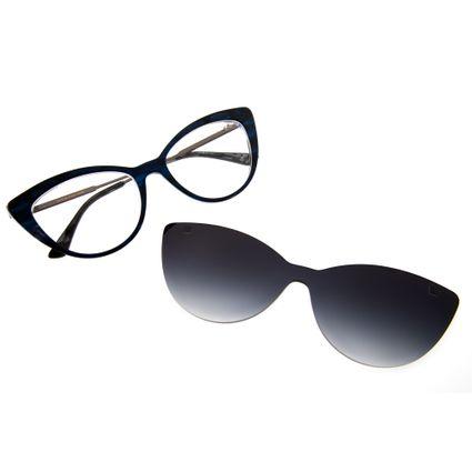 armacao para oculos de grau feminino chilli beans blk multi preto degrade 0229 2001