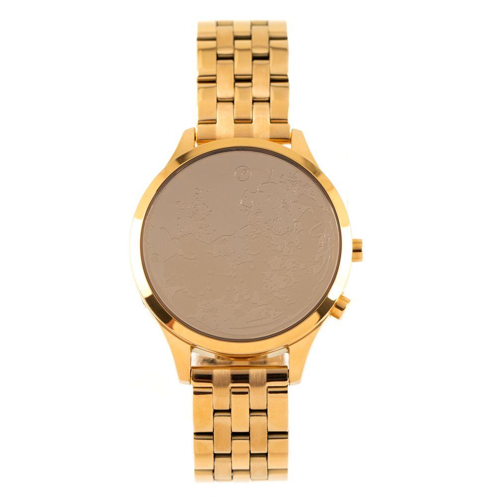 Relógio Digital Chilli Beans Feminino Metal Moonlight Dourado RE.MT.0805.2121