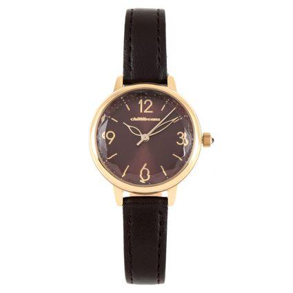 764aec369 Relógio Analógico Chilli Beans Feminino Couro Marrom R$ 299,98 ou 4x de R$  74,99 Ver detalhes