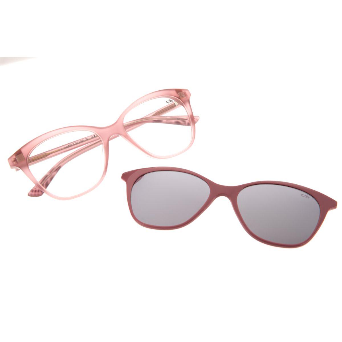 41aef479b Armação para Óculos de Grau Chilli Beans Feminino Multi Clip On ...