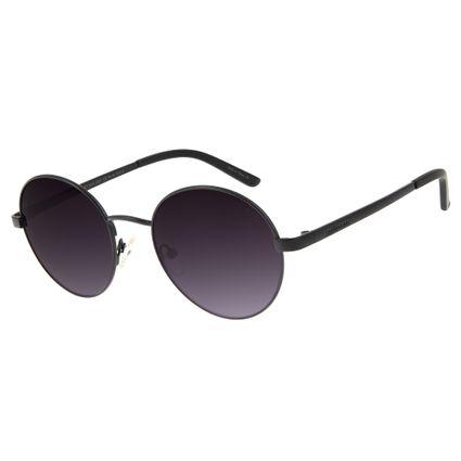 a07699758 Óculos de Sol Chilli Beans Unissex Redondo Metal Preto R$ 249,98 ou 4x de  R$ 62,49 Ver detalhes