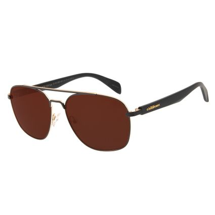 61eb0fbee Óculos de Sol Masculino Executivo Chilli Beans Marrom R$ 199,98 ou 4x de R$  49,99 Ver detalhes