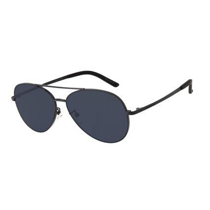 27d3921fb Óculos de Sol Unissex Chilli Beans Aviador Preto R$ 199,98 ou 4x de R$  49,99 Ver detalhes