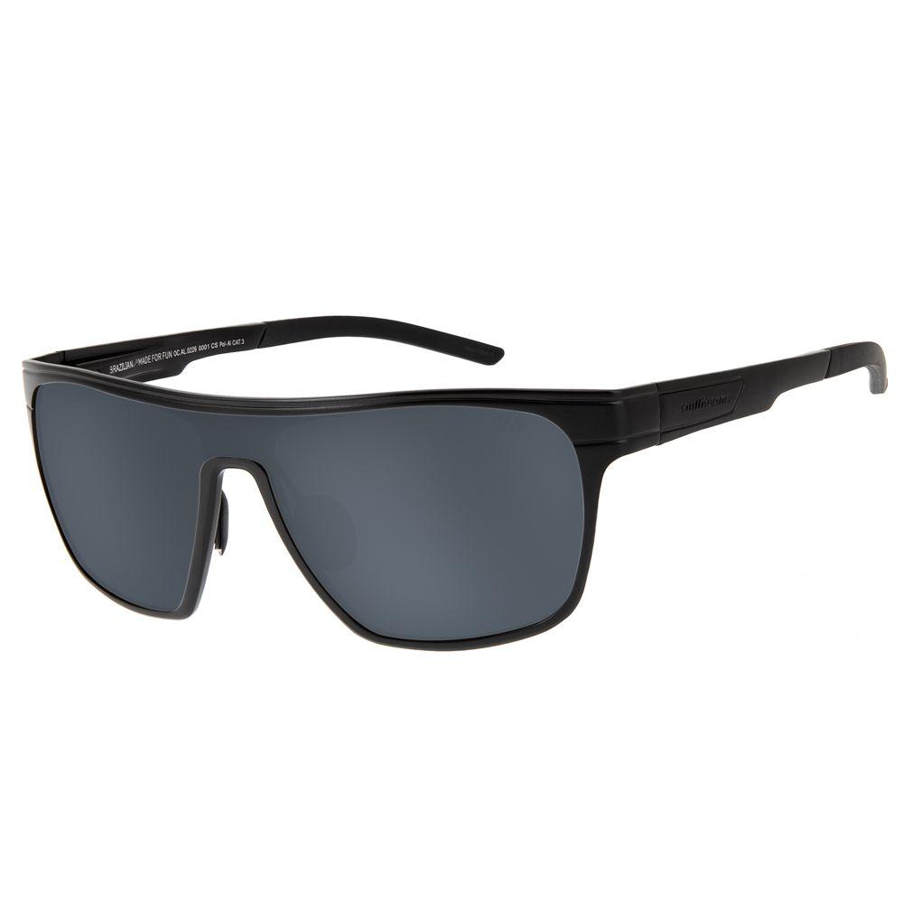 1f54ad32b Óculos de Sol Esportivo Masculino Chilli Beans Polarizado Preto -  OC.AL.0226.0001 M