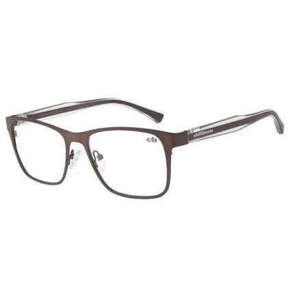 c975e63d3 Armação Para Óculos De Grau Chilli Beans Masculino Marrom Transparência R$  339,98 ou 4x de R$ 84,99 Ver detalhes