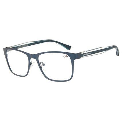 42a63b9ac Armação Para Óculos De Grau Chilli Beans Masculino Azul Transparência R$  339,98 ou 4x de R$ 84,99 Ver detalhes