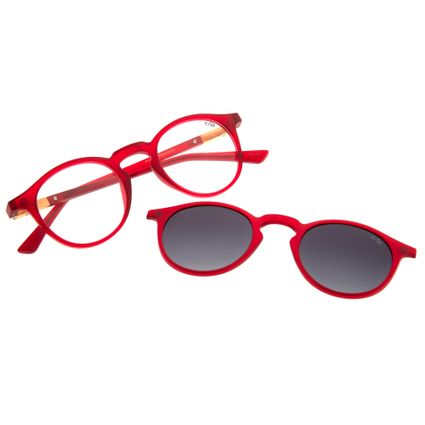 040417610 Armação para Óculos de Grau Unissex Chilli Beans Multi 2 em 1... R$ 359,98  ou 4x de R$ 89,99 Ver detalhes