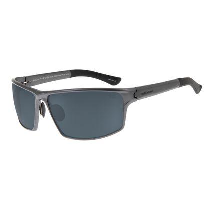 Óculos de Sol Unissex Chilli Beans Esportivo Alumínio Grafite Polarizado OC.AL.0229-0122
