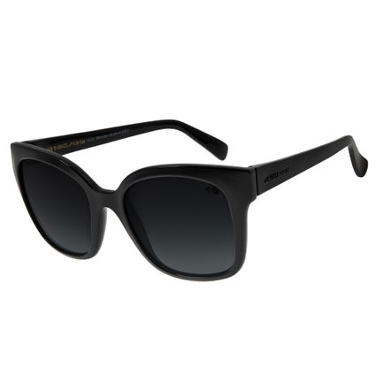 Óculos de Sol Feminino Chilli Beans Quadradinho Básico Degradê Azul OC.CL.2644-8301