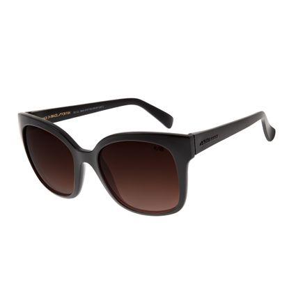 Óculos de Sol Feminino Chilli Beans Quadrado Classic Degradê Marrom Escuro OC.CL.2644-5747