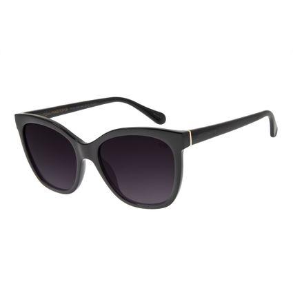 Óculos de Sol Feminino Chilli Beans Clássico Quadrado Preto OC.CL.2698-0501