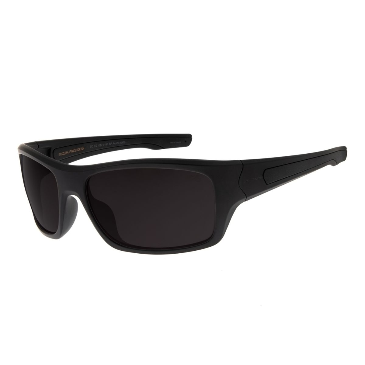 84b4d551e Óculos de Sol Masculino Chilli Beans Esportivo Preto Fosco - Chilli ...