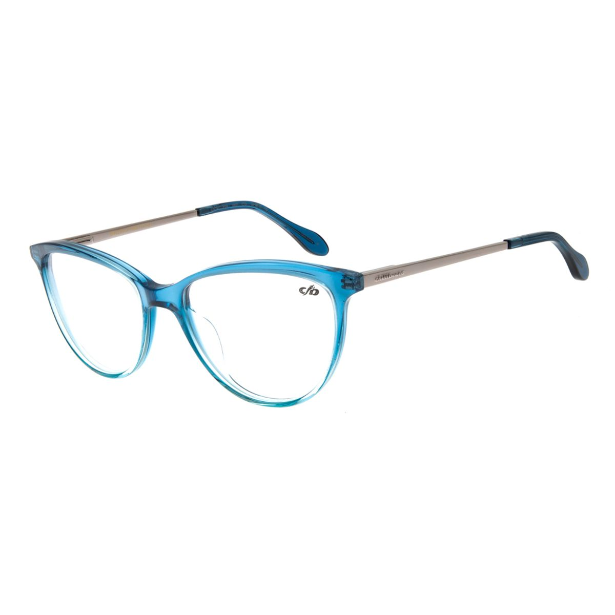 7eb8c8eed Armação para Óculos de Grau Feminino Gatinho Azul - Chilli Beans