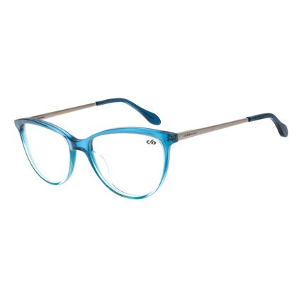 a2bf54877 Armação para Óculos de Grau Feminino Gatinho Azul R$ 339,98 ou 4x de R$  84,99 Ver detalhes