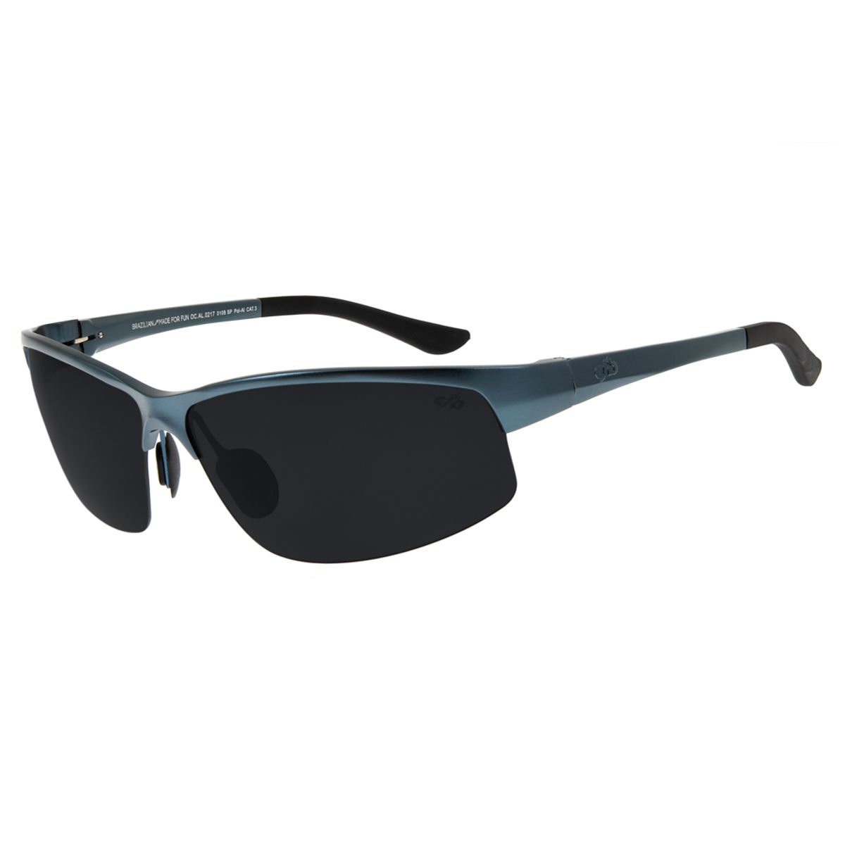 00bf9d138 Óculos de Sol Masculino Chilli Beans Esportivo Alumínio Azul Polarizado -  OC.AL.0217.0108 M. REF: OC.AL.0217.0108. OC.