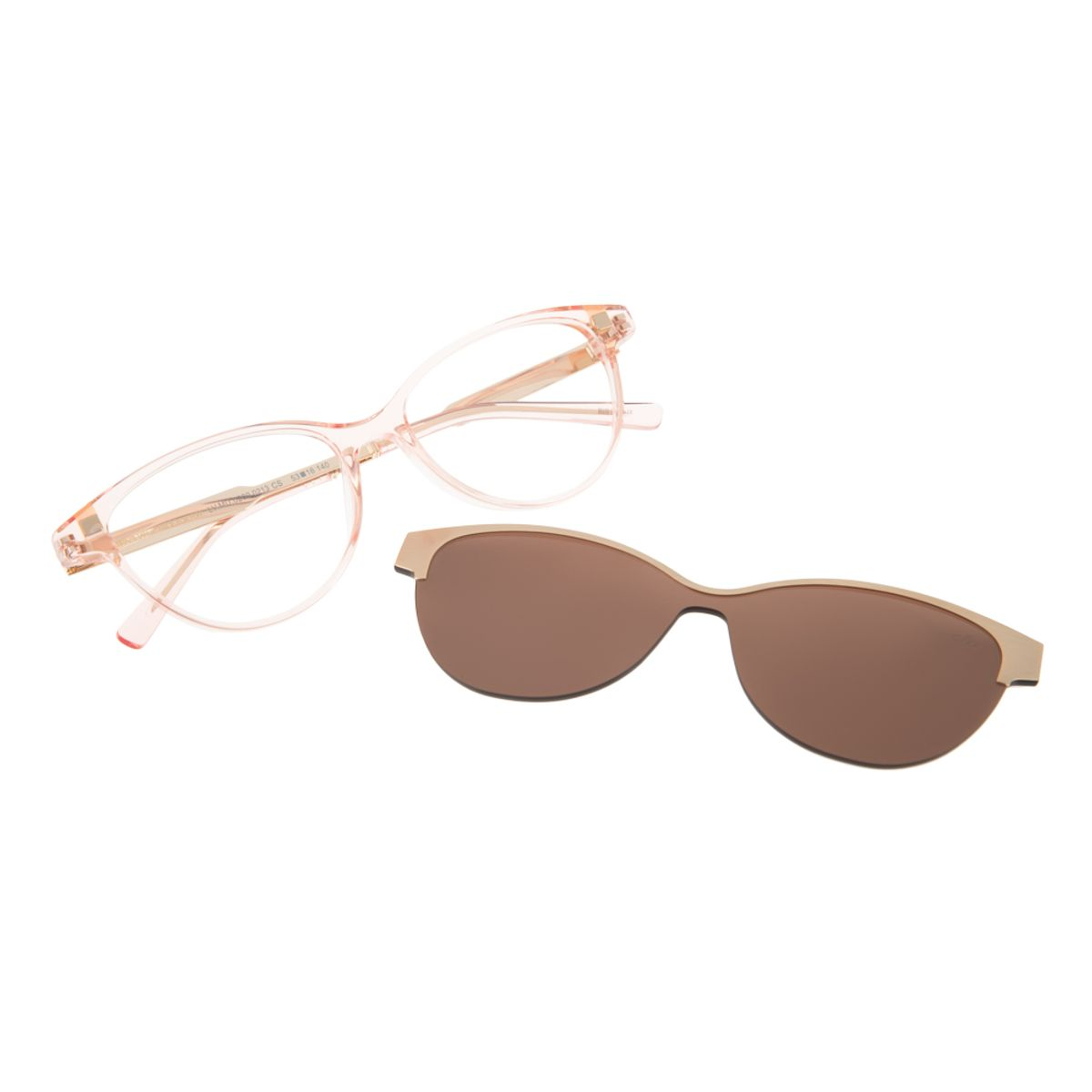 616593d81 Armação para Óculos de Grau Chilli Beans Gatinho Multi Clip On Rosa -  LV.MU.0200.0213 M. REF: LV.MU.0200.0213. Previous