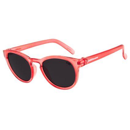 Óculos de Sol Infantil Chilli Beans Quadrado Vermelho OC.KD.0530-0116