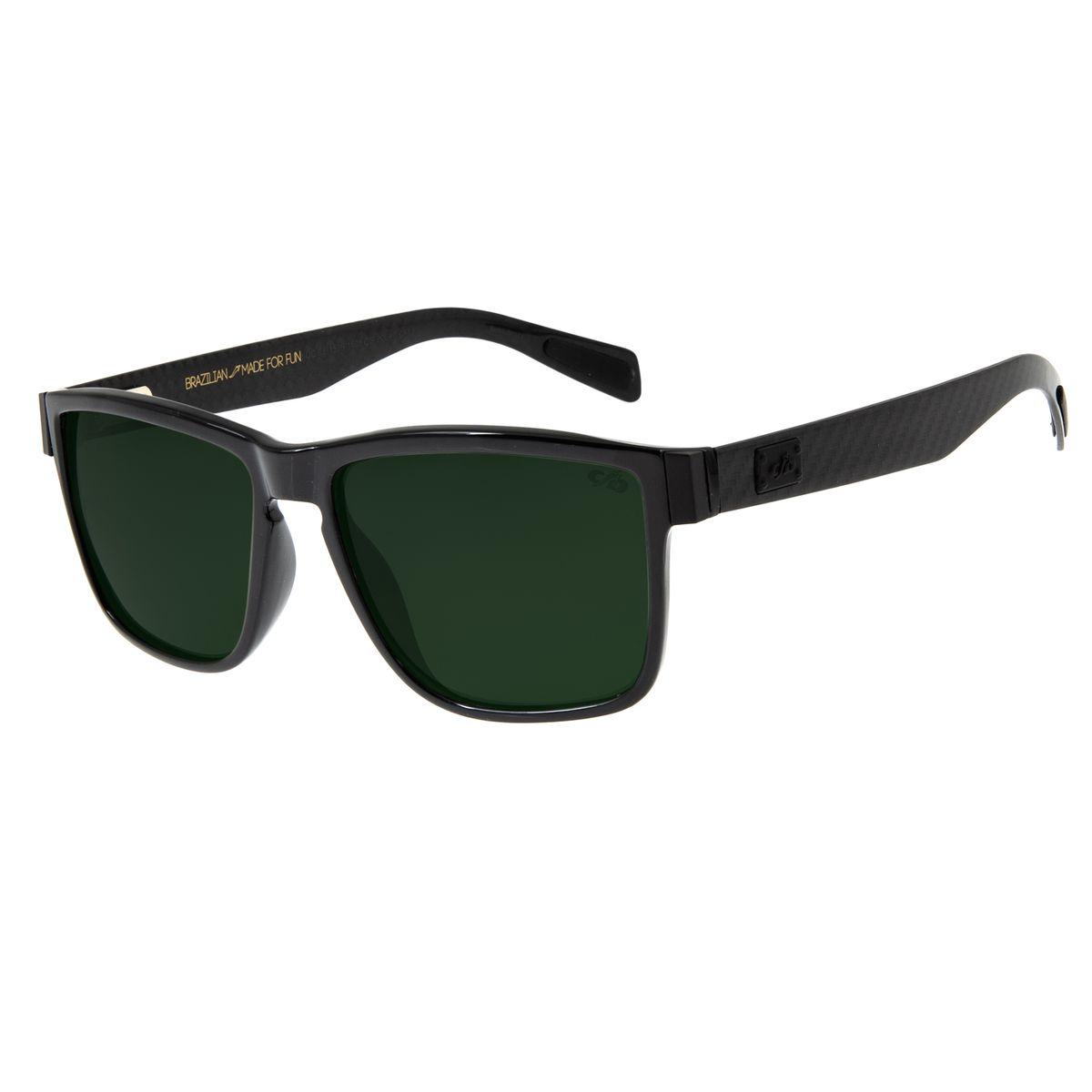 bb0cf4ee4 Óculos de Sol Masculino Chilli Beans Quadrado Verde Polarizado ...