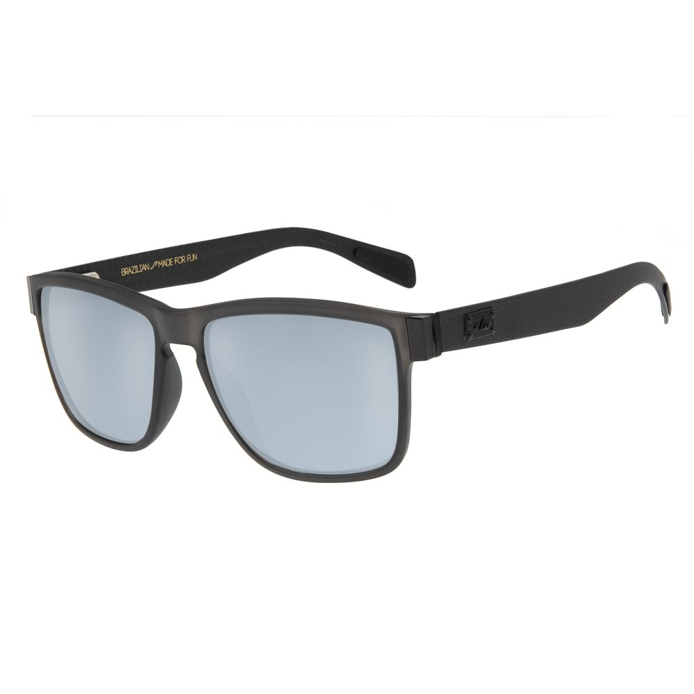 df6b800c3 Óculos de Sol Masculino Chilli Beans Quadrado Cinza Escuro Polarizado -  OC.CL.1539.3228 M