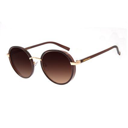 5727ae414 Óculos de Sol Feminino Chilli Beans Redondo Marrom R$ 249,98 ou 4x de R$  62,49 Ver detalhes