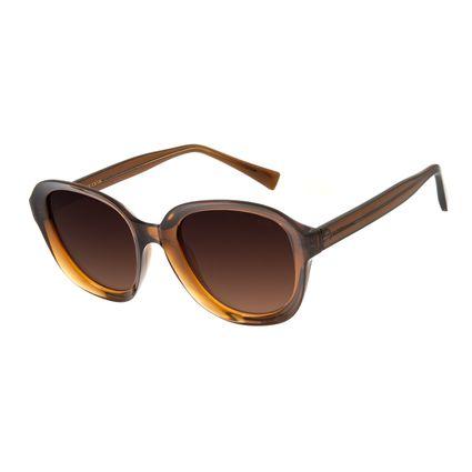 3f5b82c3e Óculos de Sol Feminino Chilli Beans Oversized Gradiente de Cor Marrom R$  159,98 ou 4x de R$ 39,99 Ver detalhes