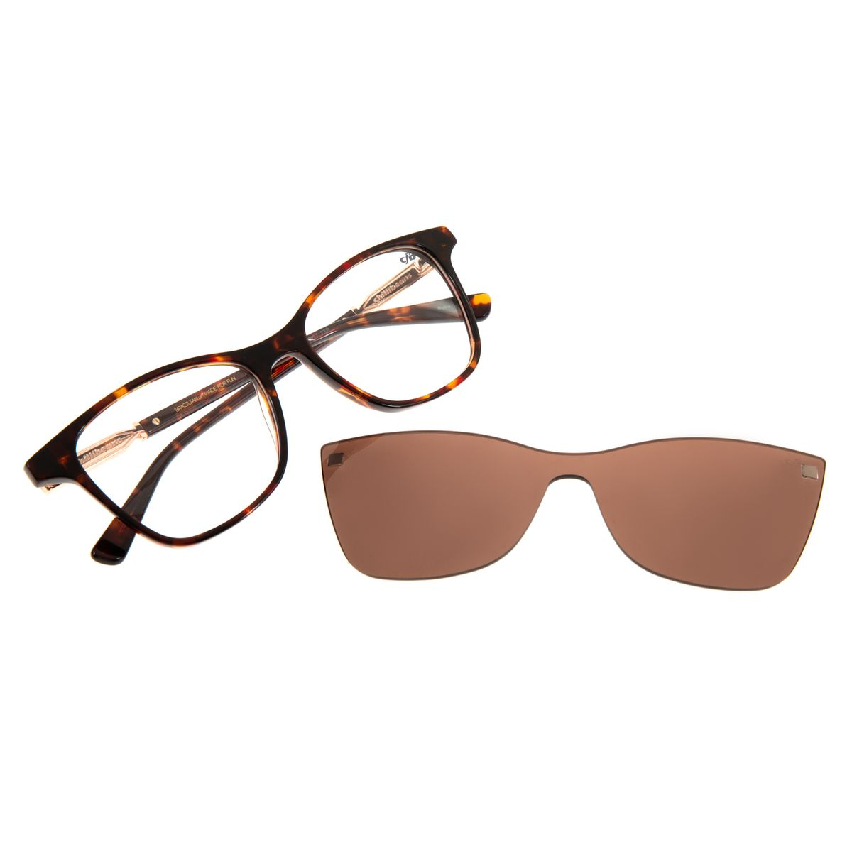 dd94aa562 Armação Para Óculos De Grau Feminino Chilli Beans 2 em 1 Multi ...