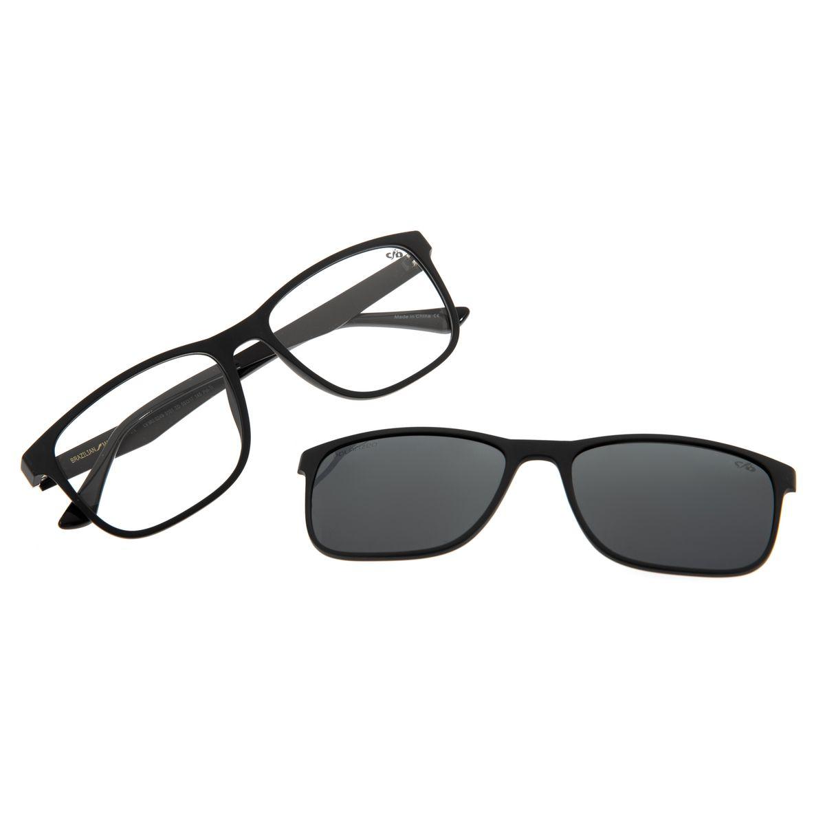 41ae9e83b Armação Para Óculos de Grau Masculino Chilli Beans 2 em 1 Multi ...