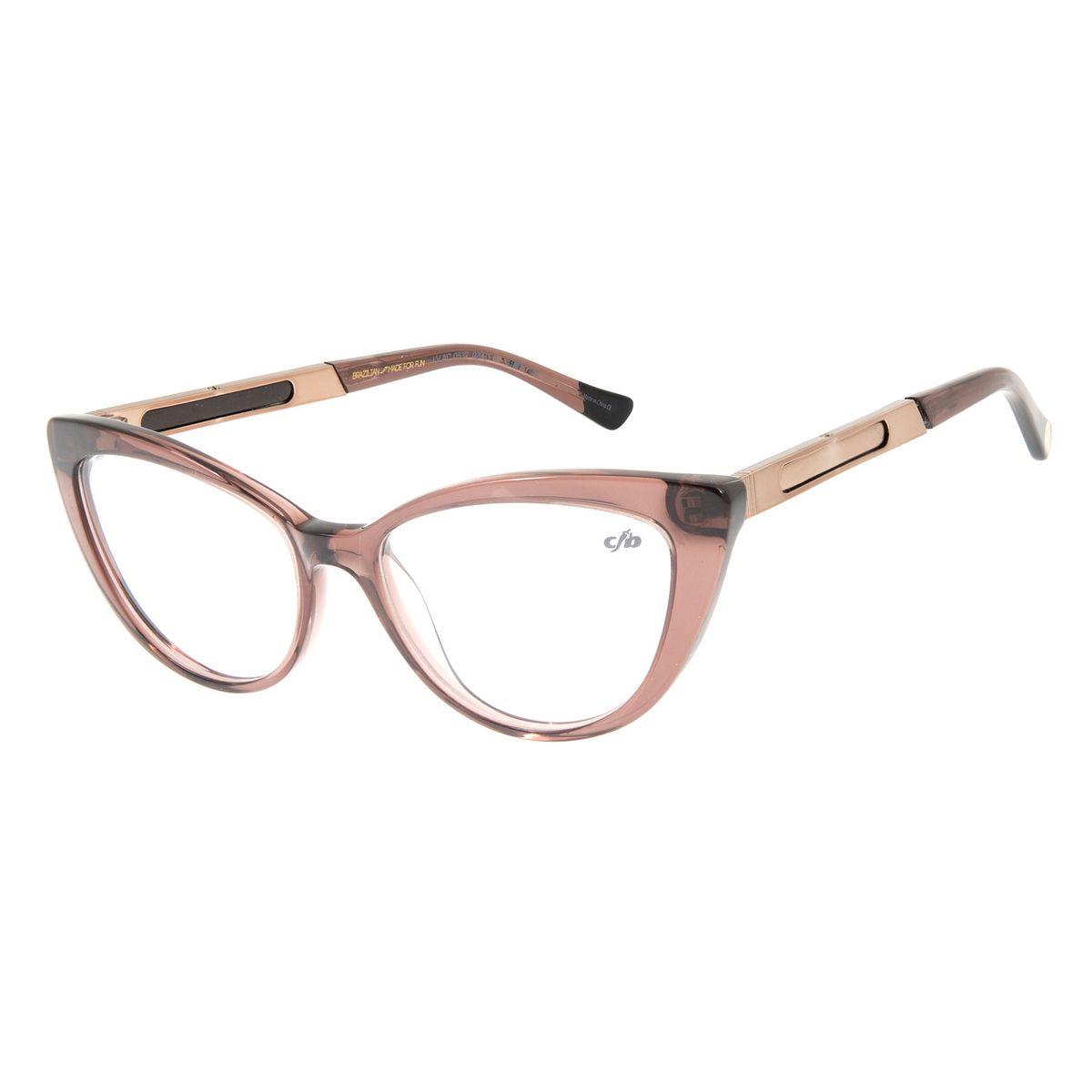 f2e9e9333 Armação Para Óculos de Grau Feminino Chilli Beans 2 em 1 Flip ...
