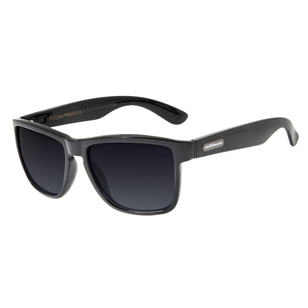 Óculos de Sol Masculino Chilli Beans Bossa Nova Degradê Polarizado OC.CL.2771-2001