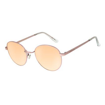 Óculos de Sol Unissex Chilli Beans Essential Redondo Metal Rosé OC.MT.2517-5795