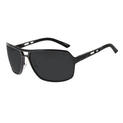 Óculos de Sol Masculino Chilli Beans Executivo Polarizado Cinza OC.AL.0045-0401