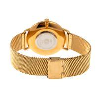 Relógio Analógico Feminino Chilli Beans Malha Metal Dourada RE.MT.0836-0121.2