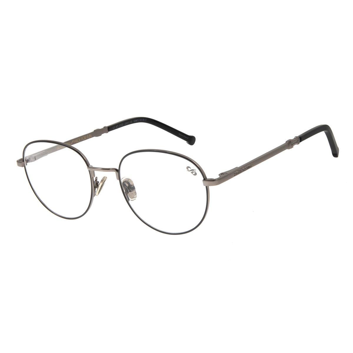 Armação Para óculos De Grau Masculino Motor Club Chilli