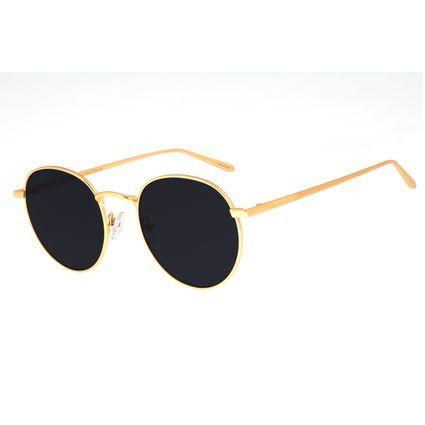 Óculos De Sol Unissex Chilli Beans Dourado Banhado A Ouro OC.MT.2590-0121