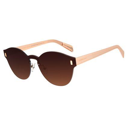 Óculos de Sol Feminino Chilli Beans Double Lenses Redondo Rosê OC.MT.2619-2095