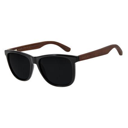 Óculos De Sol Masculino Chilli Beans Quadrado Polarizado Preto OC.CL.2795-0101