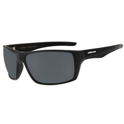 Óculos De Sol Masculino Chilli Beans Performance Polarizado Cinza OC.ES.1186-0401