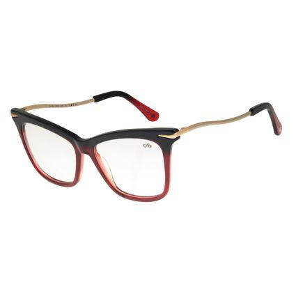 Armação Para Óculos de Grau Feminino Chilli Beans Gatinho Dourada LV.AC.0483-2021