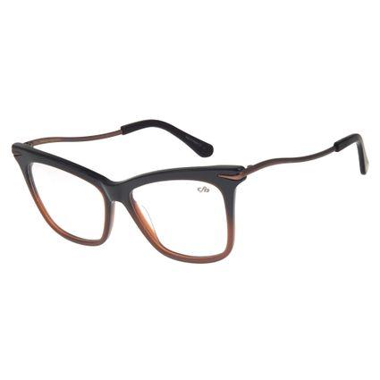 Armação Para Óculos de Grau Feminino Chilli Beans Gatinho Marrom Escuro LV.AC.0483-2047